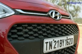 2017 hyundai grand i10 facelift test drive review grille