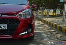 2017 hyundai grand i10 facelift test drive review LED DRLS