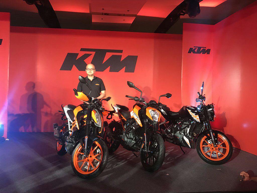 new 2017 ktm duke 200 india launch on february 23, price, specs