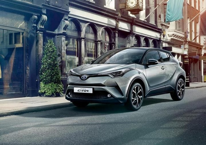 2017 toyota c hr india official images