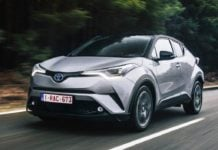 2017 toyota c hr india official image front angle action