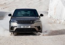 2018 range rover velar official image