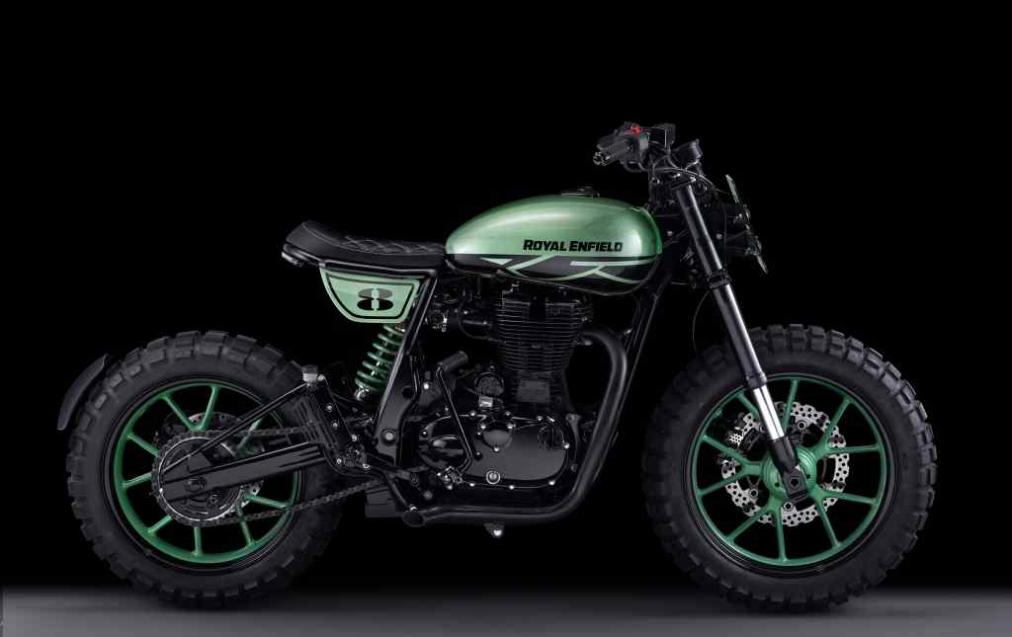 royal enfield classic 500 green fly specifications images. Black Bedroom Furniture Sets. Home Design Ideas