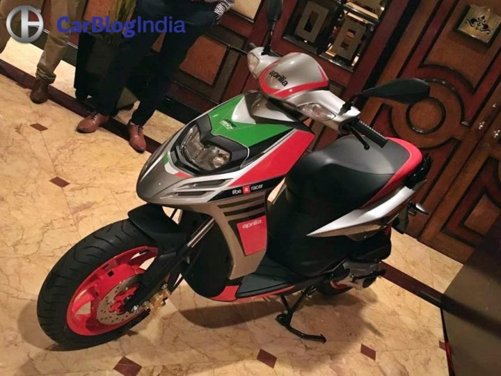 best scooter in india 2017 - aprilia sr 150 race edition