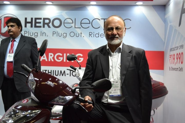 hero flash electric scooter images