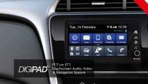 honda city 2017 images centre console touchscreen