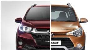 honda wrv vs hyundai i20 active comparison