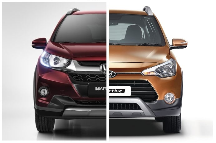 Honda Wrv Vs Hyundai I20 Active Comparison Of Price Specs