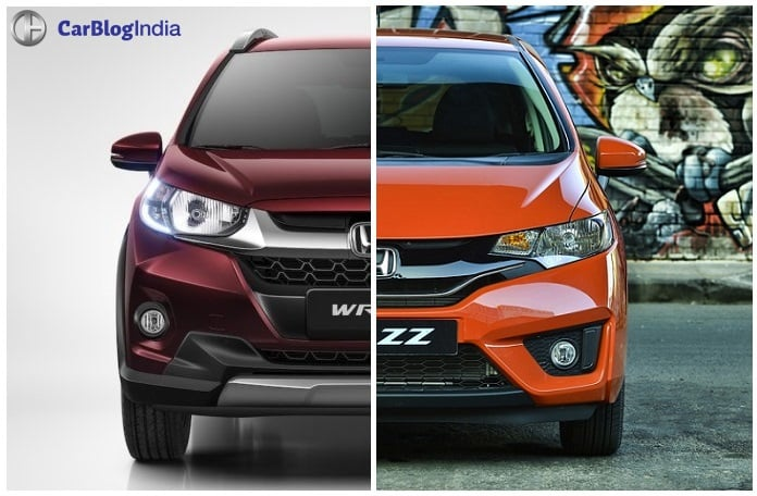 honda wrv vs jazz