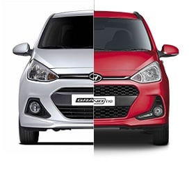 hyundai grand i10 old vs new model comparison of price specifications. Black Bedroom Furniture Sets. Home Design Ideas