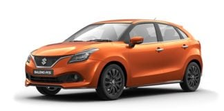 maruti baleno rs colour autumn orange