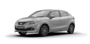 maruti baleno rs colour silver
