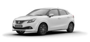 maruti baleno rs colour white