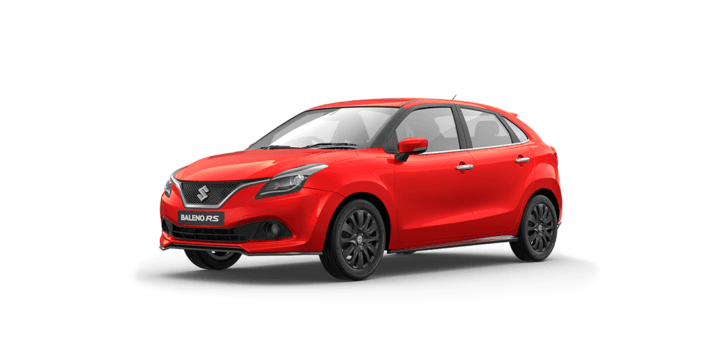 maruti baleno rs official image wallpaper front red