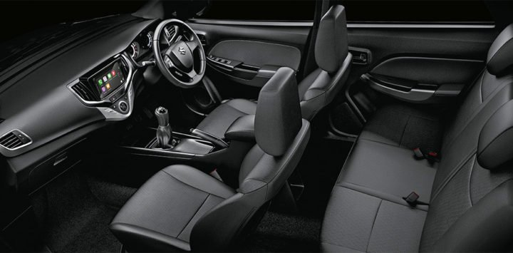 Maruti Baleno RS Interior