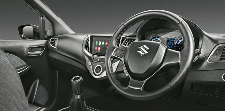 maruti baleno rs official image wallpaper interior dashboard