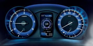 maruti baleno rs official image wallpaper interior features speedo console