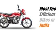 best mileage bikes in india 2017