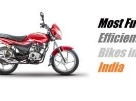 best mileage bikes in india 2017
