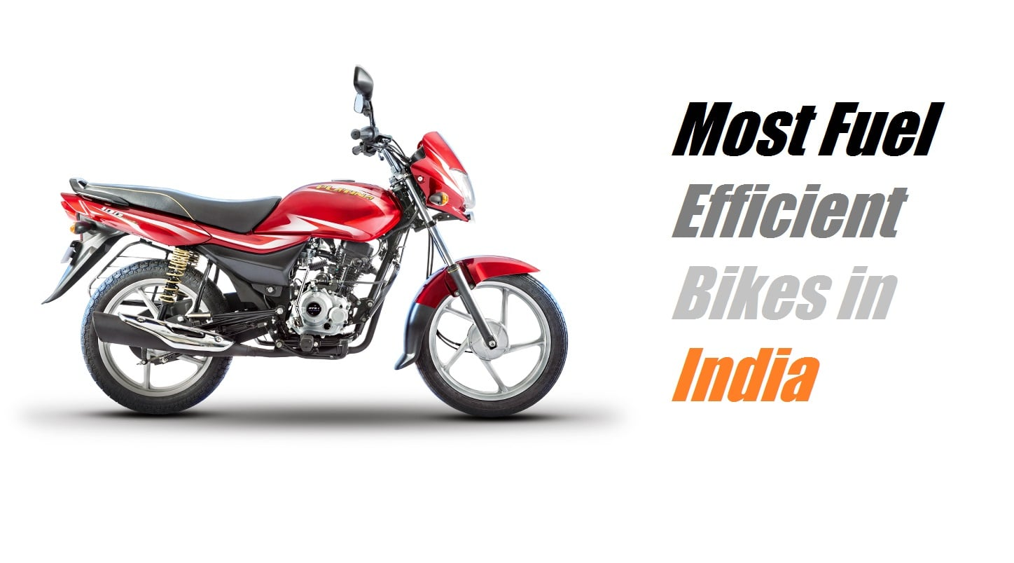 best mileage bikes in india 2018 - prices, mileage and other details