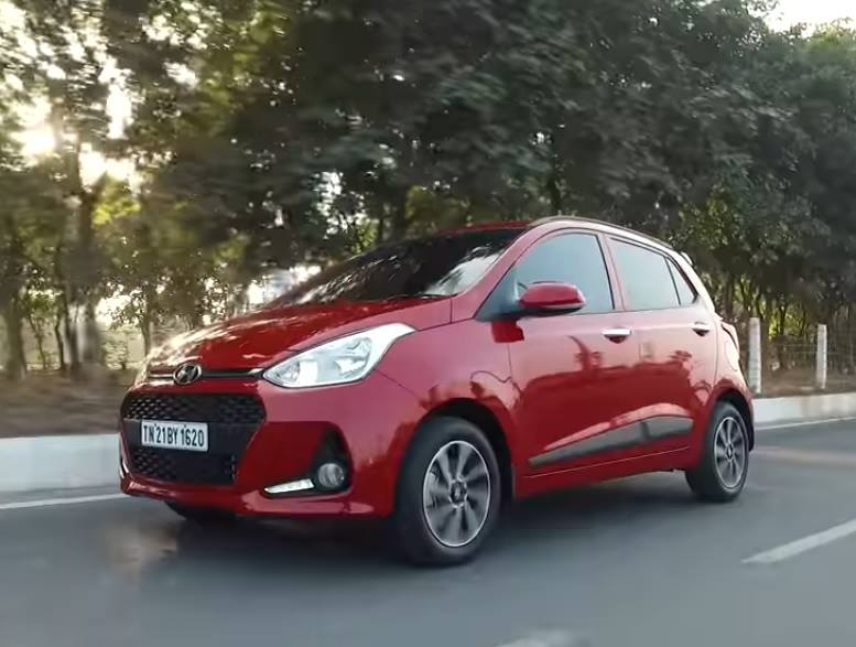 new 2017 hyundai grand i10 images front angle action