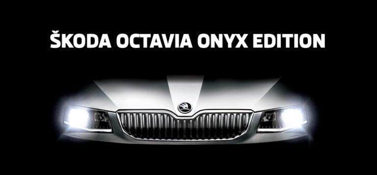 Skoda Octavia Onyx Limited Edition Announced