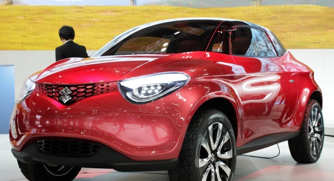 suzuki crosshiker concept images front angle