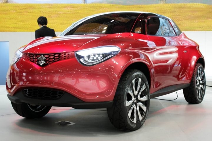 Upcoming Cars Under 5 Lakh - Suzuki Crosshiker Concept