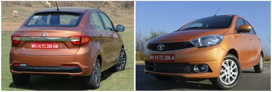 tata tigor vs tiago comparison