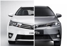 toyota corolla altis old vs new