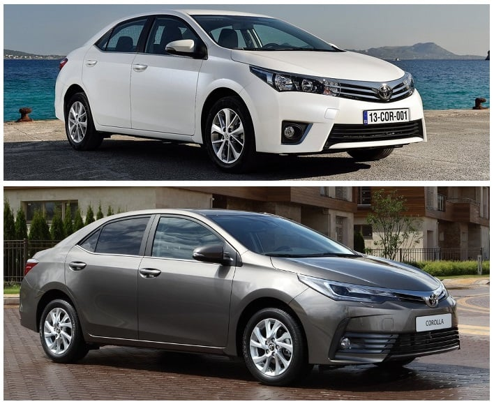 Toyota Corolla Altis Old Vs New Model Comparison Of Price