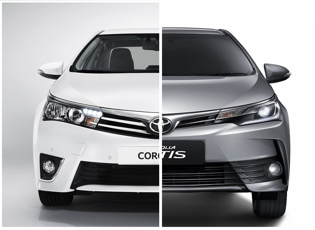 toyota corolla altis old vs new model comparison of price specifications. Black Bedroom Furniture Sets. Home Design Ideas