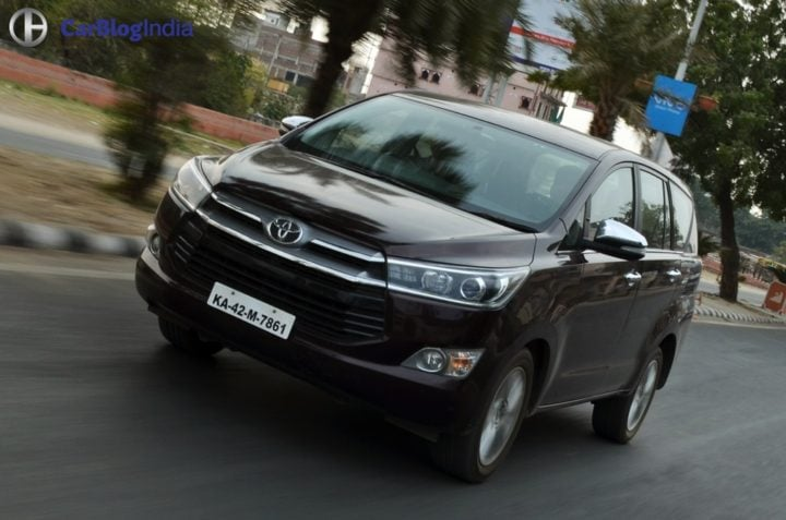 Best Mileage Automatic Cars - Toyota Innova Crysta Diesel Automatic