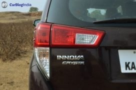 toyota innova crysta test drive review