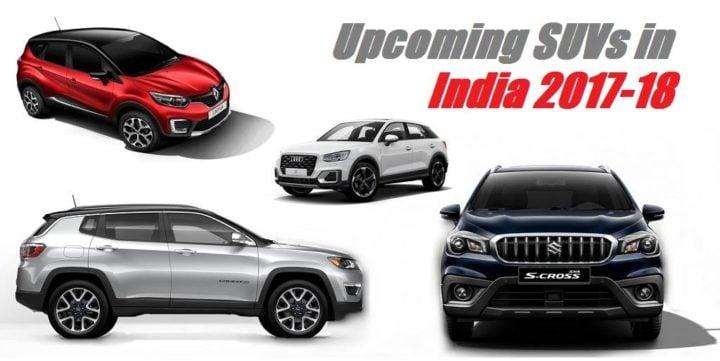 upcoming suvs india 2017