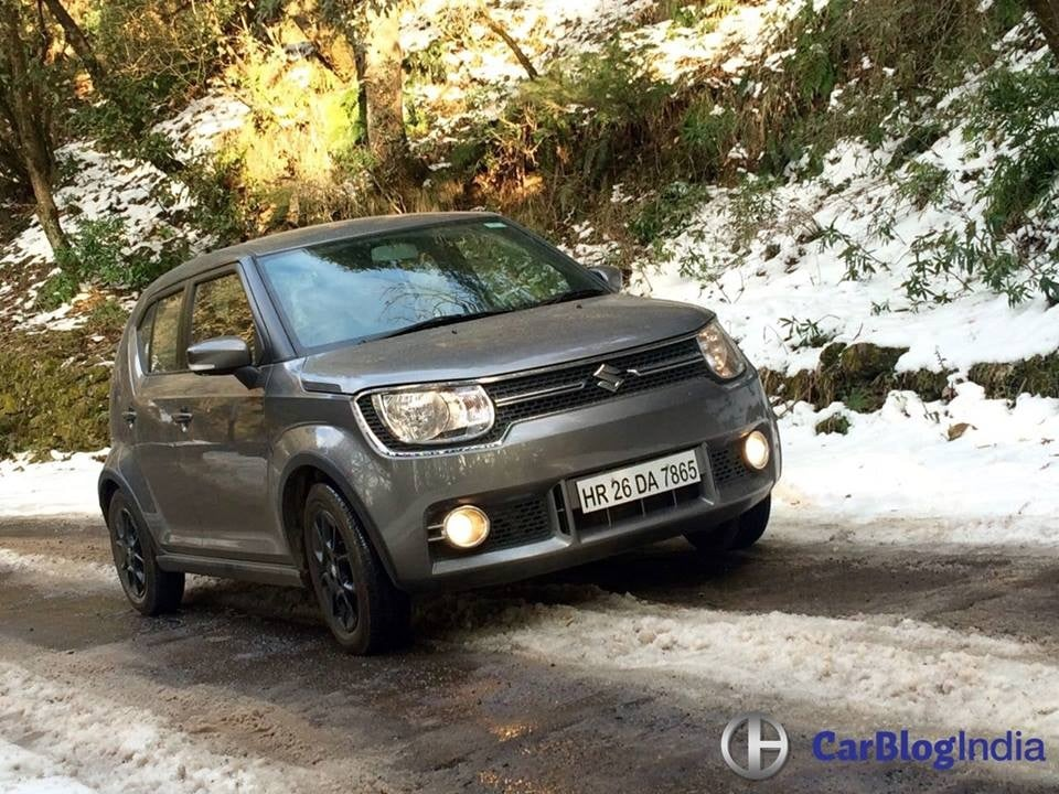 maruti ignis amt petrol review images 1