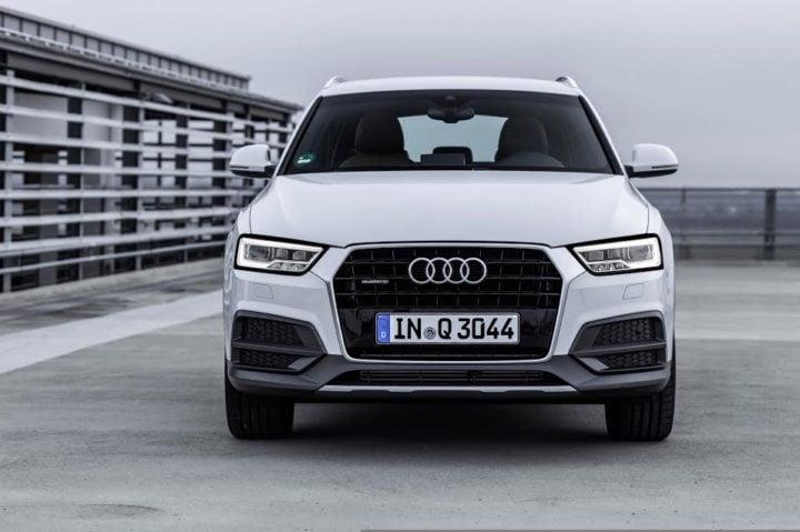 2017 Audi Q3 India Front