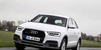 2017 Audi Q3 India Front angle