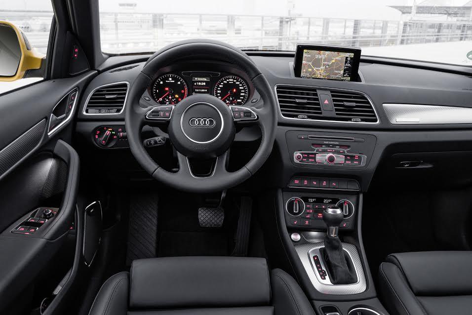 2017 Audi Q3 India Interiors
