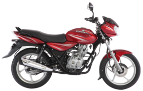 2017 bajaj discover 125 colours red white