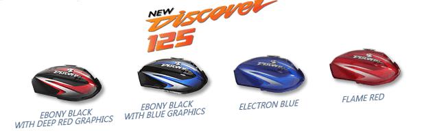 2017 bajaj discover 125 colours