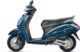 2017 honda activa 4g colours trance blue