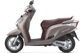2017 honda aviator colour matt selene silver