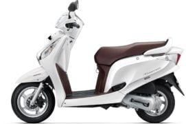 2017 honda aviator colour pearl amazing white