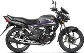 2017 honda cb shine front angle colours geny grey