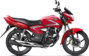 2017 honda cb shine front angle colours sports red