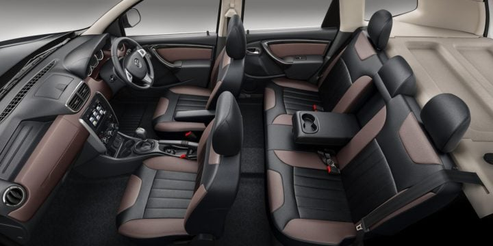 new nissan terrano 2017 facelift interiors