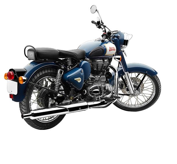 2017 royal enfield classic 350 images rear angle