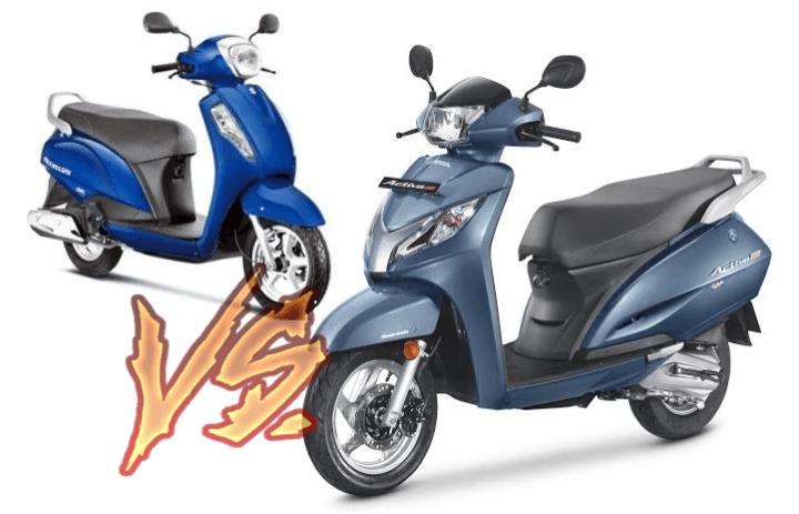 2017 Suzuki Access 125 vs Honda Activa 125