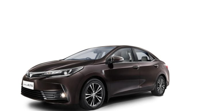 new toyota corolla altis 2017 front angle